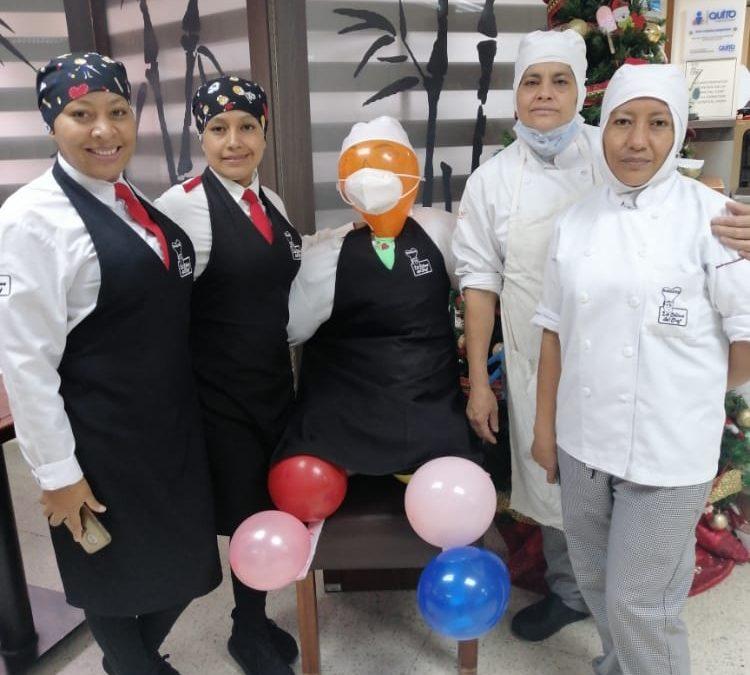 Celebración de Año Nuevo en Catering Hospitalario